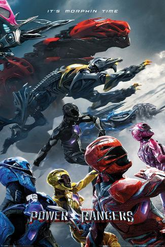 Power Rangers Movie - Charge Poster