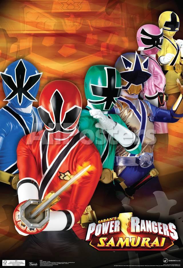 Resultado de imagen de samurai power rangers