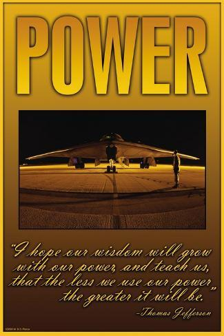 Power Wall Decal