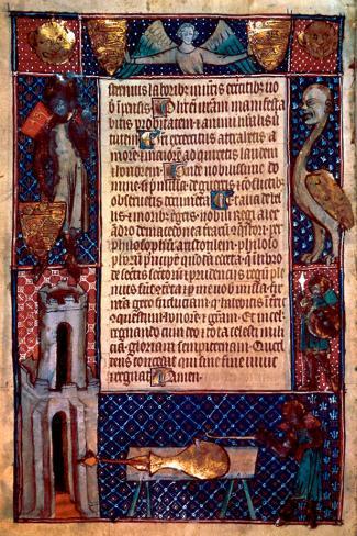 Prayer on a Papyrus Reproducción de lámina sobre lienzo