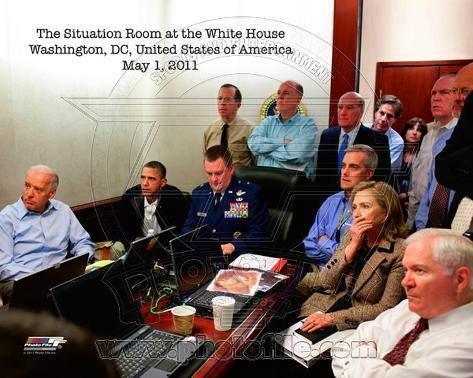 President Barack Obama & Vice President Joe Biden, May 1, 2011 Photo