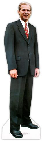 President George W. Bush Lifesize Standup Cardboard Cutouts