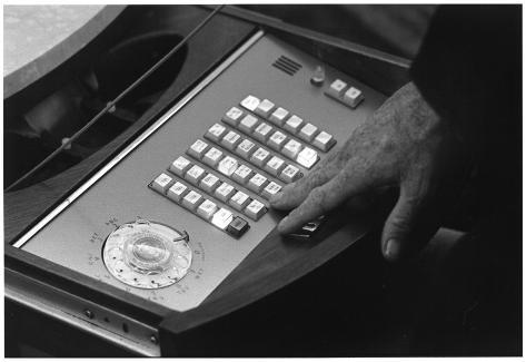 President Lyndon B Johnson (Phone Console) Art Poster Print Poster