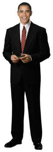 President Obama Figura de cartón