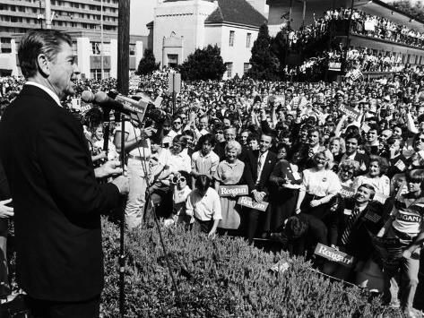 President, Ronald Reagan, During His Campaign for the Presidency, Alabama, 1980 Photo