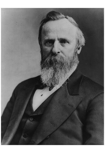 President Rutherford B. Hayes (Portrait) Art Poster Print Poster
