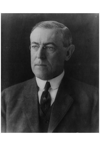 President Woodrow Wilson (Portrait) Art Poster Print Poster