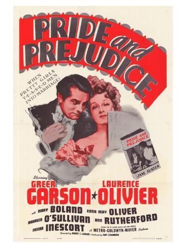 Pride and Prejudice, 1940 Exklusivt gicléetryck