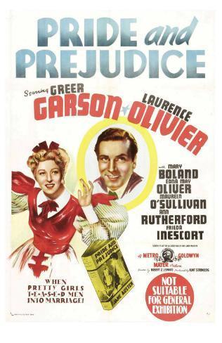 Pride and Prejudice, Australian Movie Poster, 1940 Masterprint