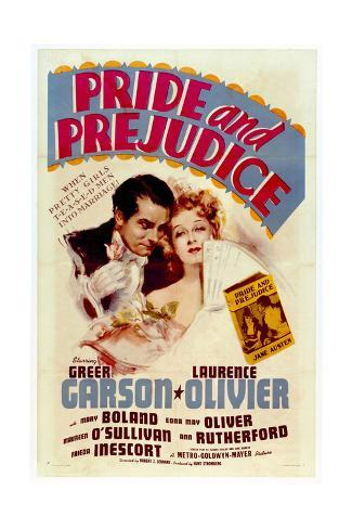 Pride and Prejudice - Movie Poster Reproduction Art Print