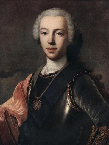 Prince Charles Edward Stuart, 18th Century Giclee Print