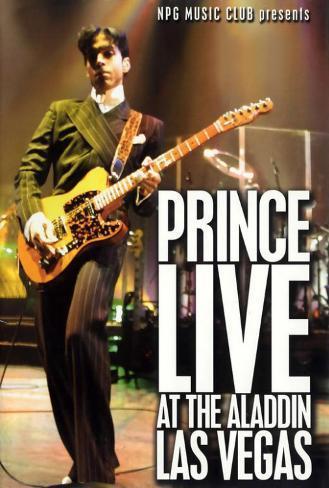 Prince Live at the Aladdin Las Vegas Poster