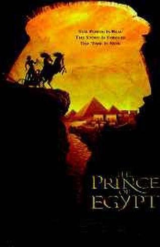 Prince Of Eygpt Original Poster