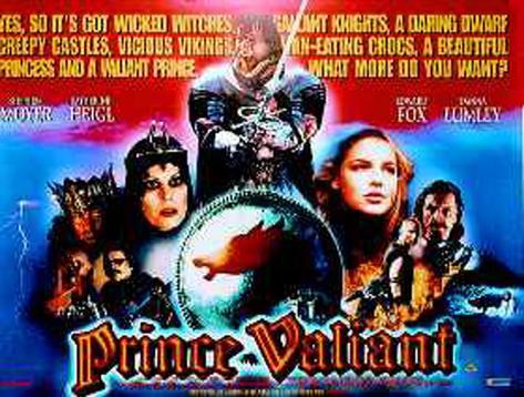 Prince Valiant Póster original
