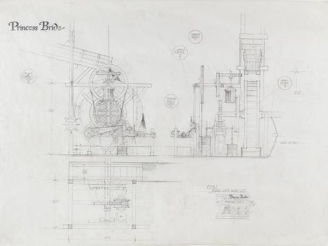 Princess Bride the Movie: The Machine Illustration Art Print