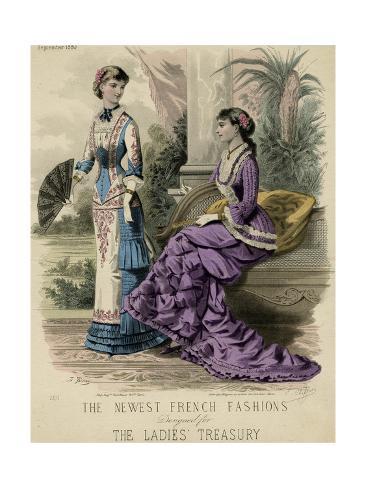 Princess Lind Dress 1880 Stampa giclée