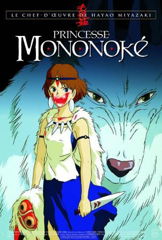 Princess mononoke french style posters allposters princess mononoke french style voltagebd Image collections