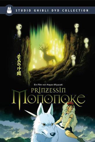 Princess Mononoke - German Style Poster
