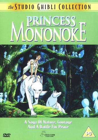 Princess Mononoke Masterprint