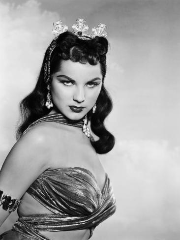 Princess of the Nile, Debra Paget, 1954 Photo