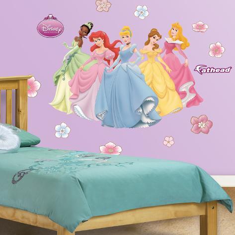 Adesivi Murali Principesse Disney.Adesivi Murali Bambini Disney Topolino E Amici Minnie Gigante