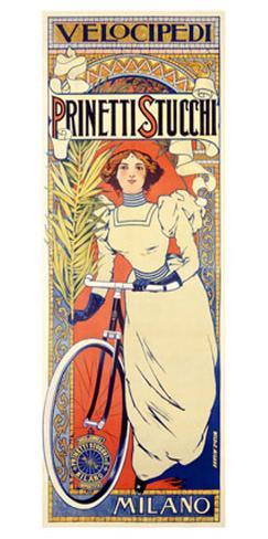 Prinetti Stucchi Bicycle Giclee Print