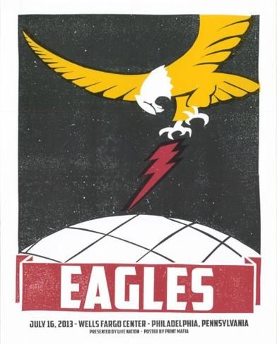 Eagles Philadelphia Serigraph