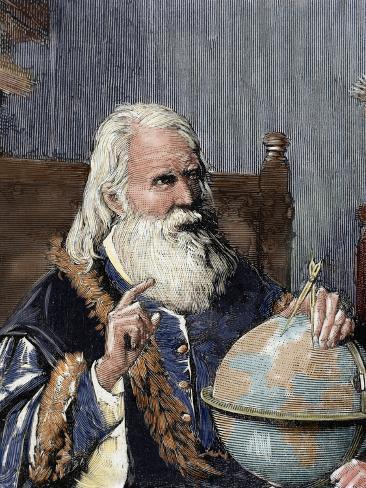 Galileo Galilei (1564-1642). Physicist, Italian Mathematician and Astronomer Photographic Print