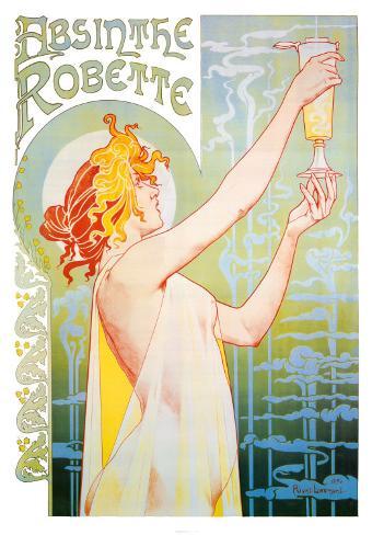 Absinthe Robette Art Print