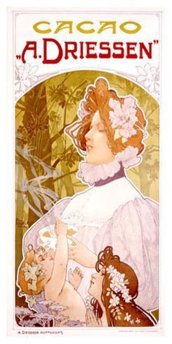 Cacao A. Driessen Giclee Print