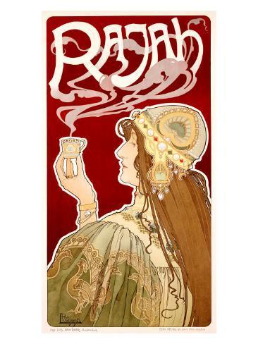Rajah Giclee Print