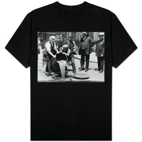 Prohibition Raid, New York City T-Shirt