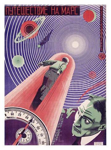 A Trip to Mars Giclee Print