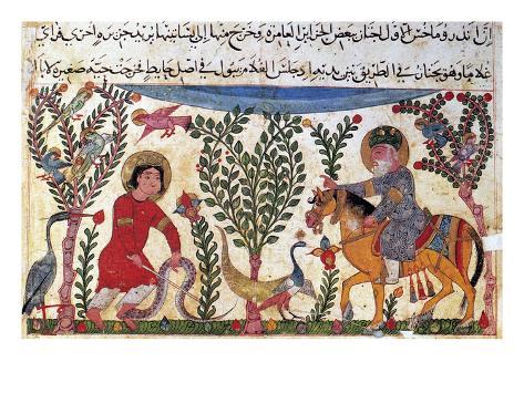 Arabic Physician Giclee Print