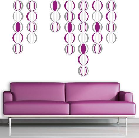 Psychedelic Balls Wall Decal