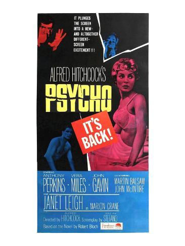Psycho, 1960 Photo