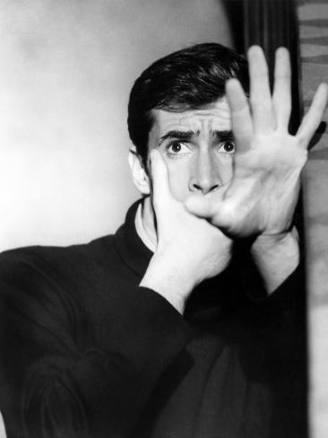 Psycho, Anthony Perkins, 1960 Photo
