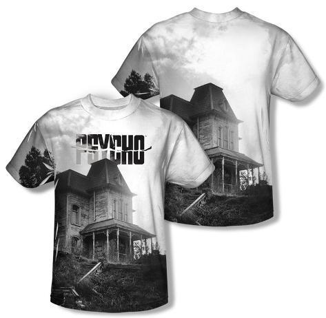 Psycho - Bates House (Front/Back Print) Sublimated