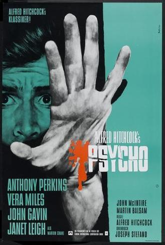 Psycho - German Style Poster