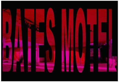 Psycho Movie (Bates Motel) Poster Print Poster