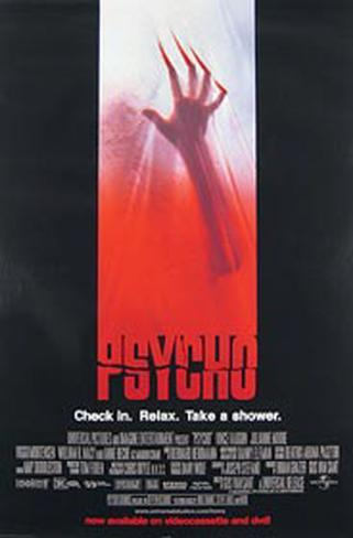 Psycho Original Poster