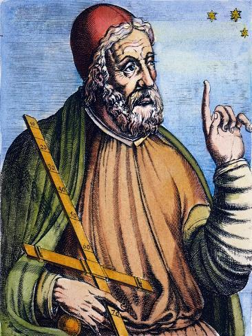 Ptolemy (2Nd Century A.D.) Giclee Print
