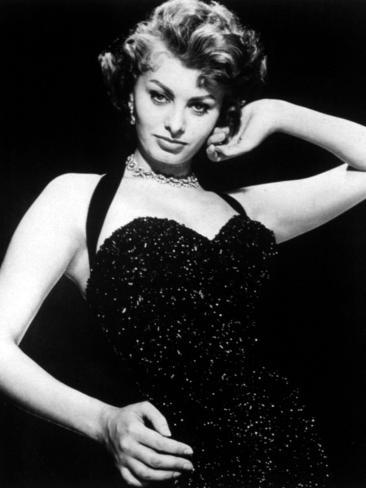Publicity Shot of Sophia Loren Taken to Promote the Pride and the Passion, 1957 Photo