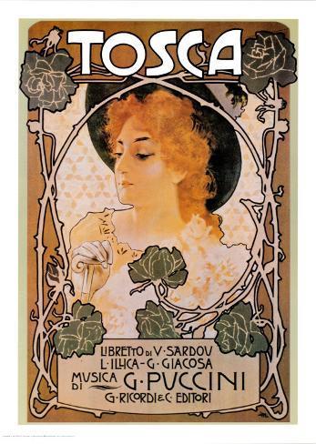 Puccini, Tosca Stampa artistica