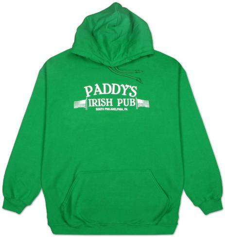 Pull Over Hoodie : It's Always Sunny in Philadelphia - Paddy's Pub T-Shirt