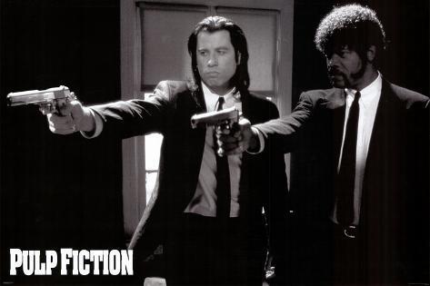 Pulp Fiction / Fiction pulpeuse Poster