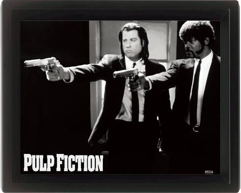 Pulp Fiction (Guns) 3 Dimensional Poster