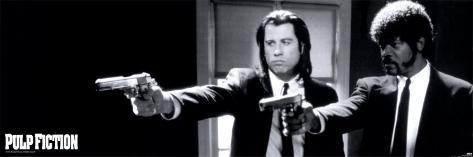 Pulp Fiction: Tempo de Violência Pôster para porta
