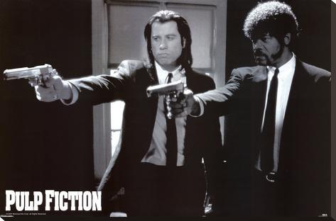 Pulp Fiction Stampa su tela