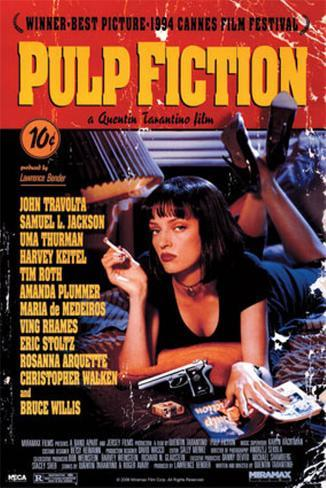 Pulp Fiction Juliste